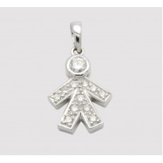 Boy Shape Pendant