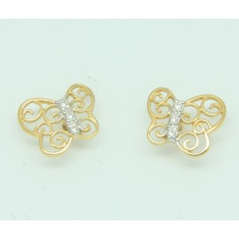 Lovely Butterfly Earrings